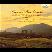 Romantic Piano Quintets - works by Ries, Limmer, Hummel, Dussek, Onslow, Schubert et al. / Nepomuk Quartet