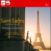 Saint-Saens: The 5 Piano Concertos / Philippe Entremont, piano