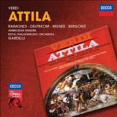 Verdi: Attila / Deurekom, Bergonzi, Milnes, Raimondi. Gardelli