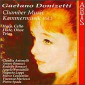 Donizetti - Chamber Music Vol 2 / Antonelli, Bonucci, et al