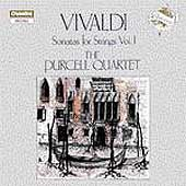 Vivaldi: Sonatas for Strings Vol 1 / Purcell Quartet