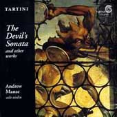Tartini: The Devil's Sonata, etc / Andrew Manze
