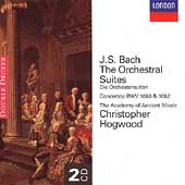 Bach: Orchestral Suites / Hogwood, Academy of Ancient Music