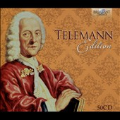 Telemann Edition - The most complete collection of Telemann's music in one set, performed by renowned Baroque specialists [50 CDs]