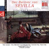 Rossini: Barber of Seville / Suitner, Pütz, Schreier, Prey