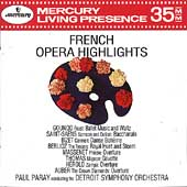 French Opera Highlights / Paul Paray, Detroit Symphony