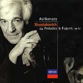 Shostakovich: 24 Preludes and Fugues Op 87 / Ashkenazy
