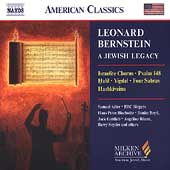American Classics - Bernstein-A Jewish Legacy / Adler, et al