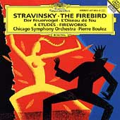 Stravinsky: The Firebird, etc / Boulez, Chicago SO