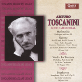 Memorial Concerts - Boito, Verdi / Arturo Toscanini