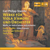 Stamitz: Works for Viola d'Amore and Orchestra / Fey, et al