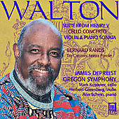 Walton: Suite from Henry V, etc;  Rands / De Preist, et al
