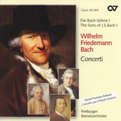 W.F. Bach: Concerti / Goltz, Keiser, Behringer, Hill, et al