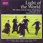 Dankworth: Light of the World;  Mozart, etc / Nicholas