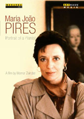 Maria João Pires, Portrait of a Pianist. A Film by Werner Zeindler, 1991 - performances of music by Mozart, Chopin, Schumann, Poulenc, Beethoven & Schubert [DVD]