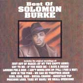 Solomon Burke: The Best of Solomon Burke [Curb]