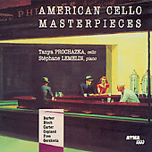 American Cello Masterpieces / Prochazka, Lemelin