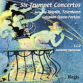 Six Trumpet Concertos - Haydn, etc / Steele-Perkins