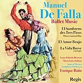 De Falla: El amor brujo, etc / B&#225;tiz, et al