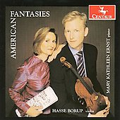 American Fantasies - Schoenberg, Cage, Schuller, Harris, Kirchner, etc / Borup, Ernst