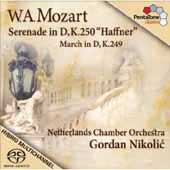 Mozart: Serenade no 7 in D major K 250 (248b)