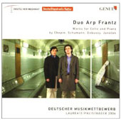Works For Cello and Piano by Chopin, Schumann, Debussy, Janacek / Duo Arp Frantz
