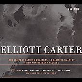 Elliot Carter: Complere String Quartets