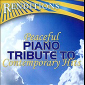 Various Artists: Peaceful Piano Tribute to Contemporary Hits