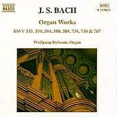 Bach: Organ Works / Wolfgang R&uuml;bsam