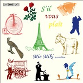 S'il Vous Plait / piano works transcribed for accordion