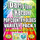 Karaoke: Party Tyme Karaoke: Pop, Country, Oldies Variety Pack, Vol. 1