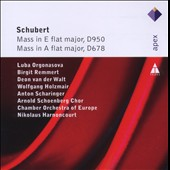Schubert: Masses D950 & D678 / Orgonasova, Remmert, Holzmair, Scharinger