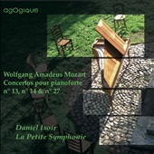 Mozart: Concertos for Piano nos 13, No. 14 & No. 27 / Daniel Isoir, fortepiano