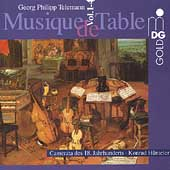 Telemann: Musique de Table / Hünteler, Camerata of 18th Cent