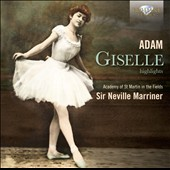 Adam: Giselle, ballet (Highlights) / Neville Marriner
