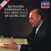 Beethoven: Symphonies 4 & 5 / Solti, Chicago SO
