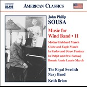 Sousa: Music for Wind Band, Vol. 11 / Keith Brion, Band of the Royal Swedish Navy