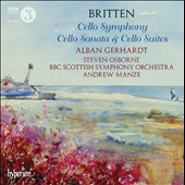 Britten: Cello Symphony; Cello Sonata; Cello Suites nos 1-3 / Alban Gerhardt, cello; Steven Osborne, piano