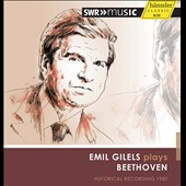Emil Gilels plays Beethoven, in concert 1980 / Emil Gilels, piano