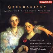 Grechaninov: Symphony no 4, etc / Polyansky, Russian SSO