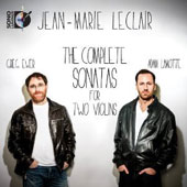Jean-Marie Leclair: The Complete Sonatas for Two Violins / Greg Ewer & Adam LaMotte [Blu-ray audio]