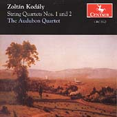 Kodaly: String Quartets no 1 & 2 / The Audobon Quartet