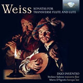 Silvius Leopold Weiss: Sonatas for Transverse Flute and Lute / Duo Inventio