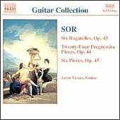 Guitar Collection - Sor: Guitar Music Op 43-45 / Vieaux
