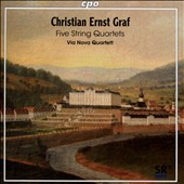 Christian Ernst Graf (1723-1804): Five String Quartets / Via Nova SQ