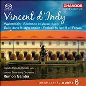 Vincent d'Indy (1851-1931): Orchestral Works, Vol. 6 / Bryndís Halla Gylfadóttir, cello; Iceland SO; Gamba
