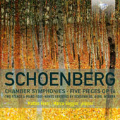 Schoenberg: Chamber Symphonies; Five Pieces Op. 16 (Music for Piano Four Hands) / Matteo Fossi, piano; Marco Goggini, piano