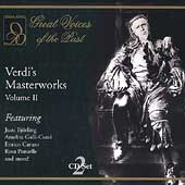 Great Voices of the Past - Verdi's Masterworks Vol 2