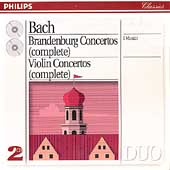 Bach: Brandenburg Concertos, Violin Concertos / I Musici