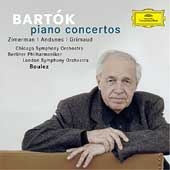 Bart&#243;k: Piano Concertos no 1-3 / Boulez, Zimerman, et al